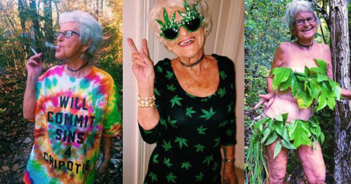 Бадди Винкл - самая жизнерадостная бабушка в мире.