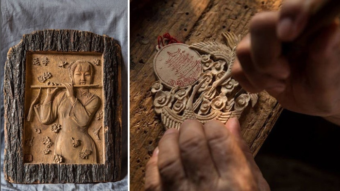 Работы бабушки-скульптора Денг Даоханг.