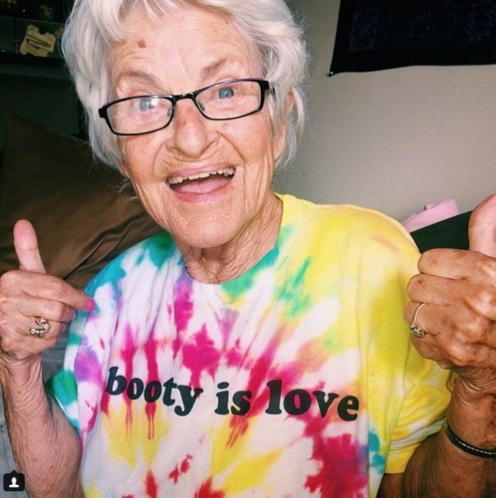 87-летняя модница, которая сумела вернуться к жизни благодаря Instagram