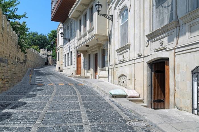 Баку, улица Кичик Гала в наши дни.