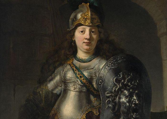 Римская богиня войны Беллона.