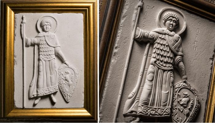 Панно, Барельеф Святой Георгий Победоносец