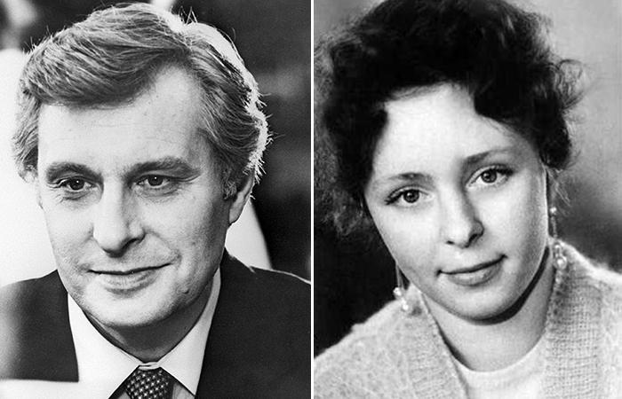 Олег Басилашвили и Галина Мшанская.