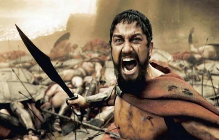 300 спартанцев.