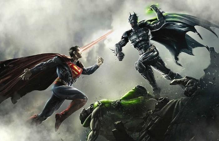 Бэтмен и Супермен.