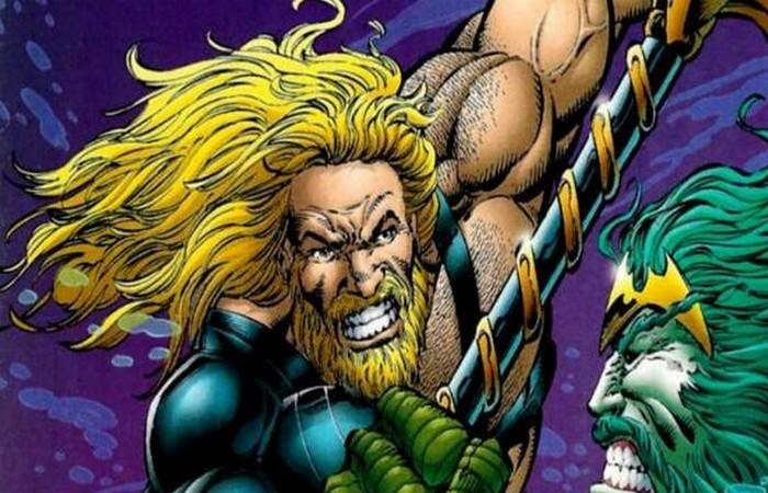 Аквамен родом из комиксов 1990-х годов.