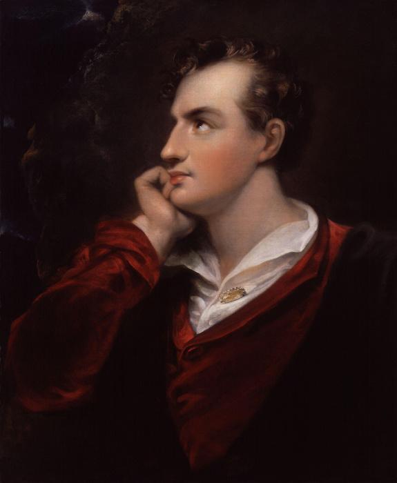 Джордж Гордон Байрон - любвеобильный поэт.
