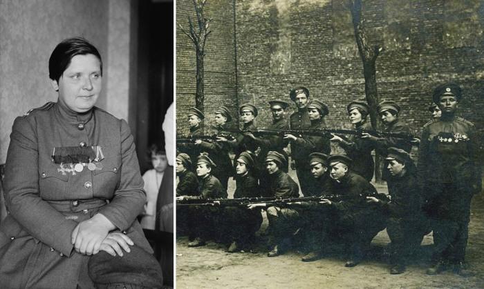 Мария Бочкарева и женский батальон смерти.