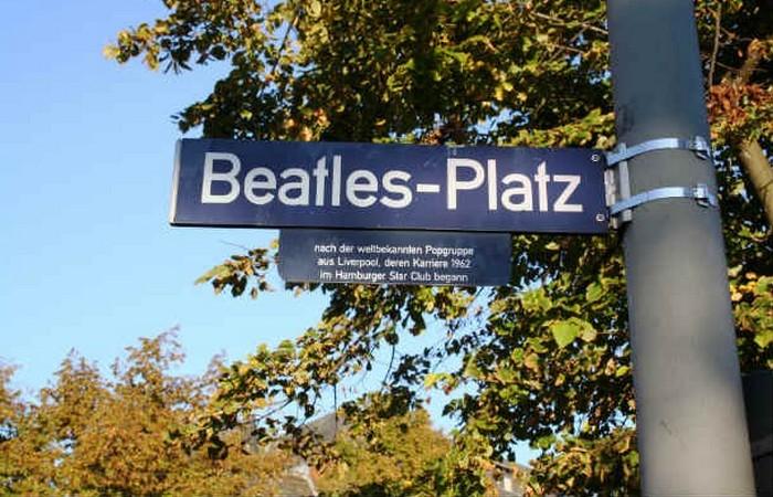 Площадь The Beatles.