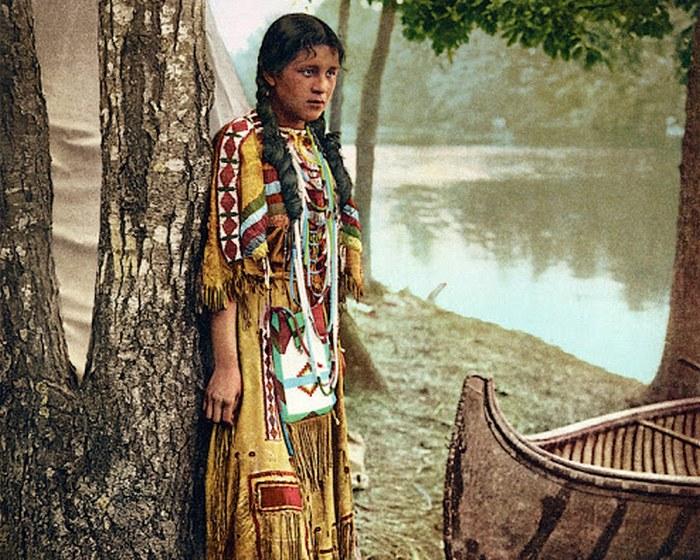 Миннехаха (округ в Южной Дакоте). Снимок 1904 года, опубликованный Detroit Photographic.