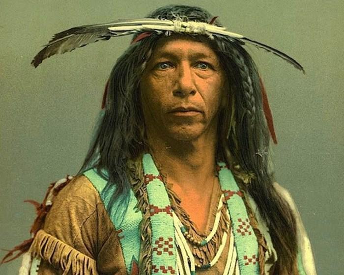Мастер по изготовлению стрел, племя оджибве, 1903 год.