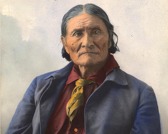 Джеронимо, индеец племени апачей, 1898 год.