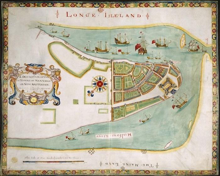 Красивый атлас: план Нью-Йорка для Герцога.