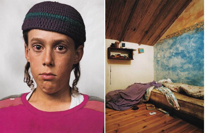 Ифтах, 10 лет. Бат Аин, Палестина.
