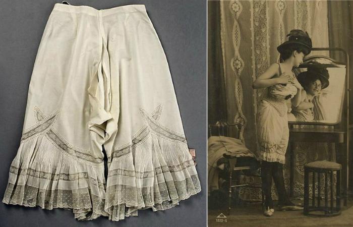 Панталоны - предтеча современного нижнего белья.