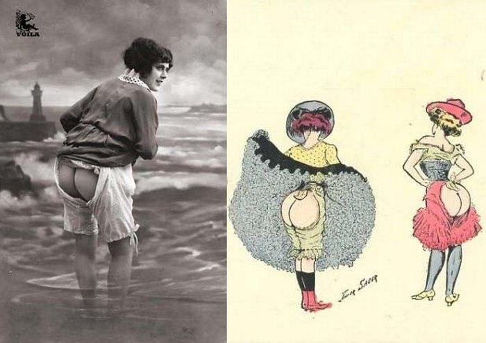 сексуальное женское белье прошлого века
