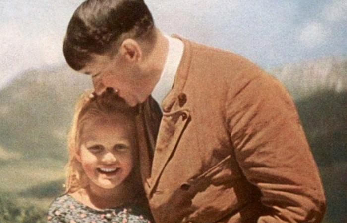 Бернели Нинау - любимая еврейская девочка Адольфа Гитлера.
