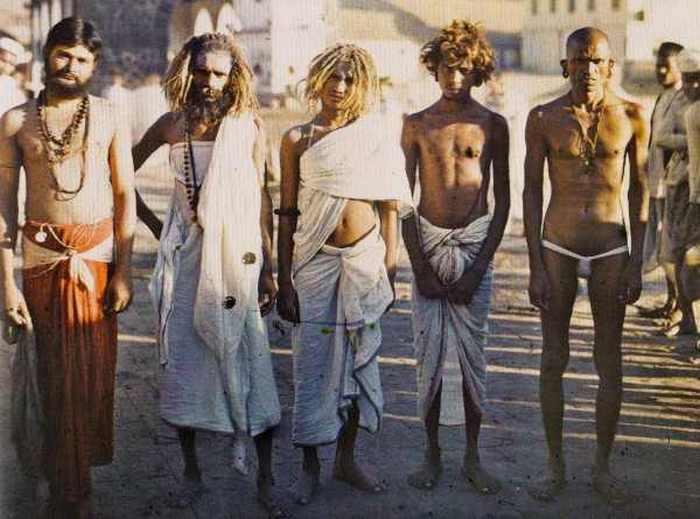 Садху. Бомбей, Индия, 17 декабря 1913