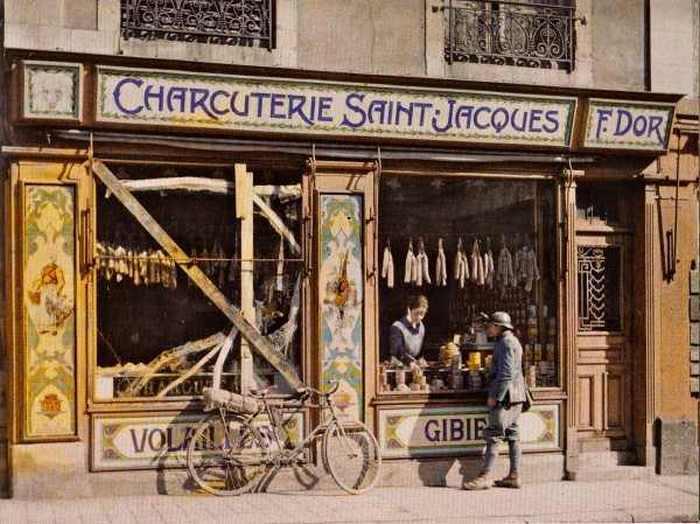 Мясная лавка. Реймс, Франция, 6 марта 1917