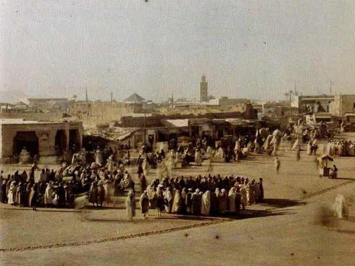 Площадь мертвых. Марракеш, Марокко, 18 июня 1926