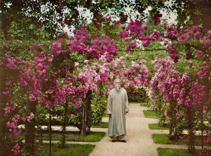 Рабиндранат Тагор. Булонь-Бийанкур, Франция, июнь 1921.