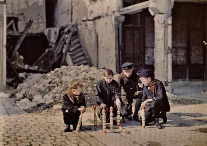 Реймс, Франция, 1917
