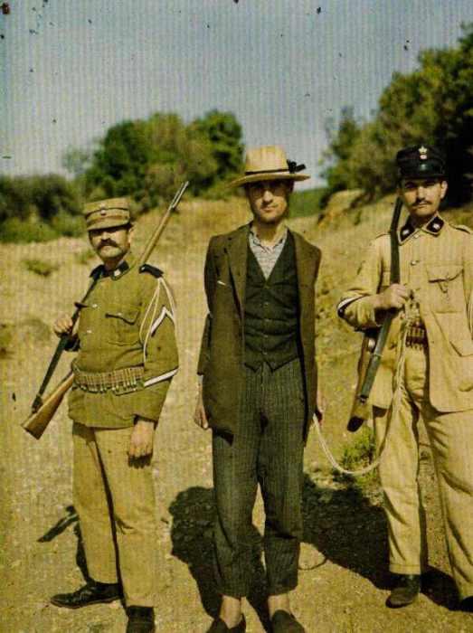 Гора Афон, Греция, 10 сентября 1913.