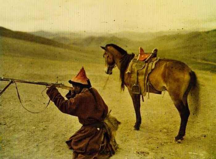 Охотник. Монголия, 20 июля 1913