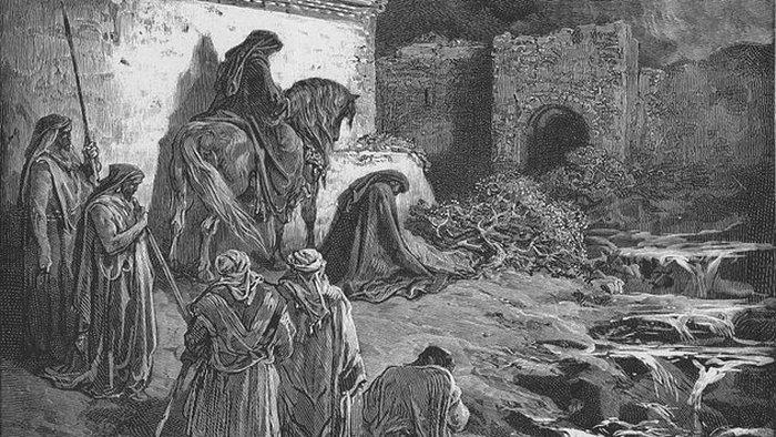 Реальные события, связанные с библейскими историями.