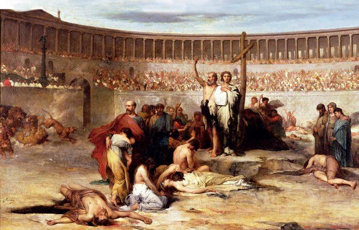 Молитва перед казнью за Веру.