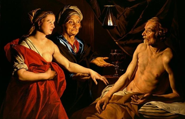Сара приводит Агарь к Аврааму. / Фото: vechnost7.blogspot.ru