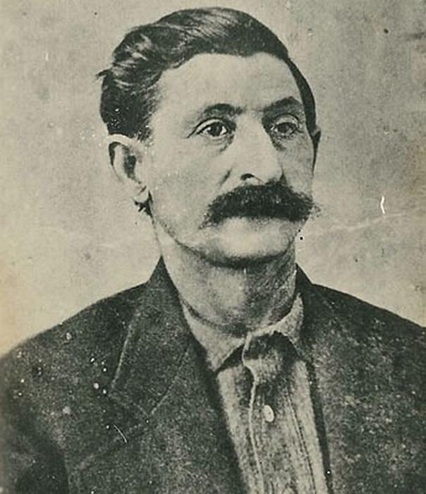 Единственная известная фотография  Джорджа Пэррота «Большого Носа»