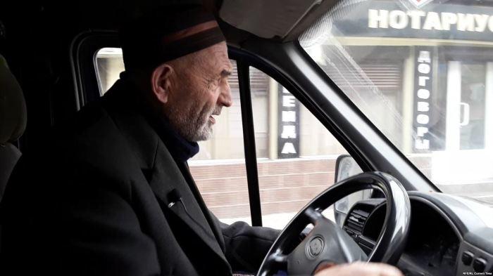 За рулём Абдулмеджид Чупалаев.