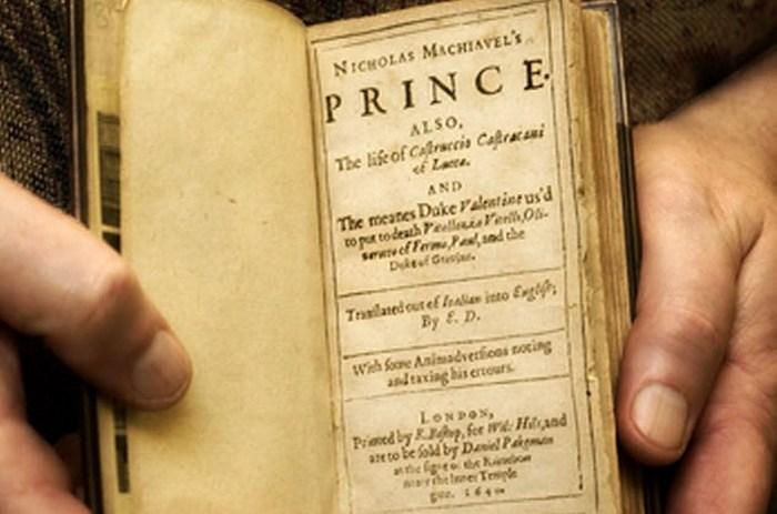 «Государь» Макиавелли - букварь для политиков.
