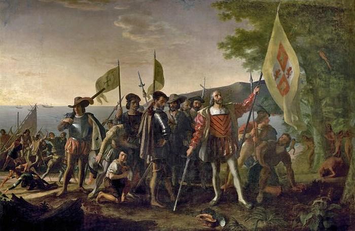 Завоевание Америки испанцами.