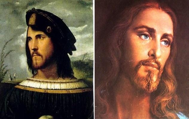 Современное изображение Христа.