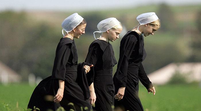 Пишешь про амишей - одевайся, как они.   Фото: www.cablook.com