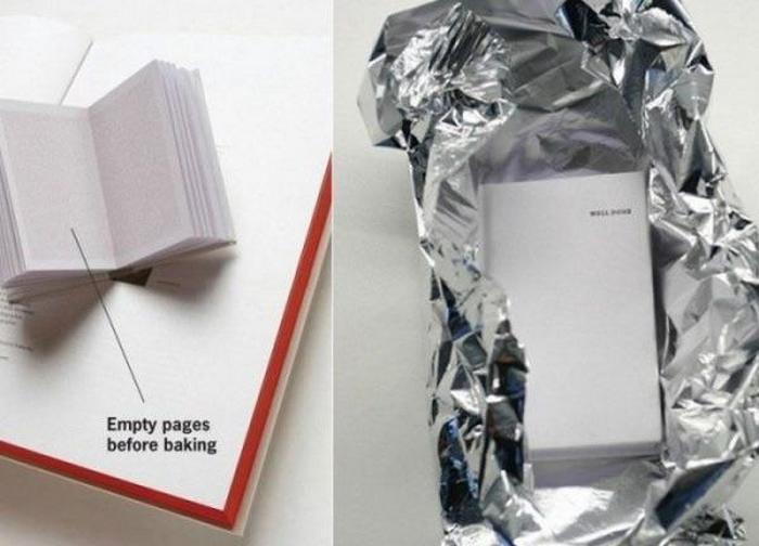 Хочешь вкусного - запеки книгу.