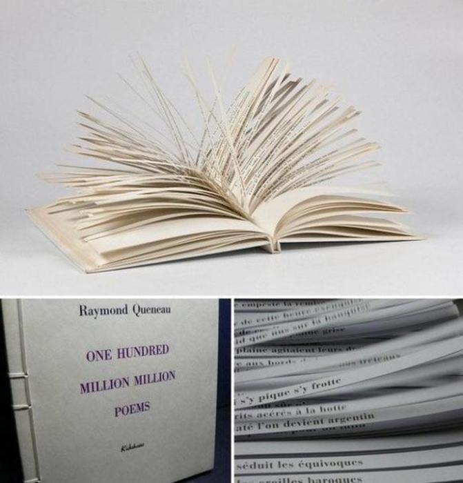 Сто тысяч миллиардов стихов в одной книге.