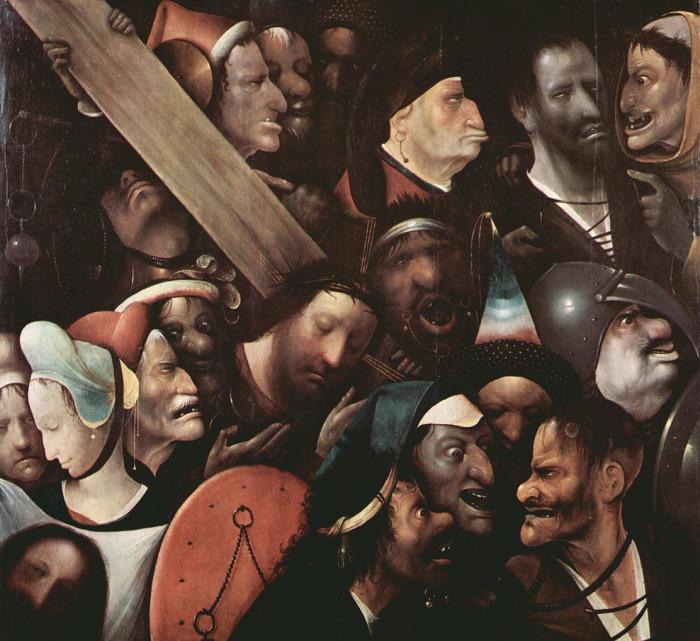 Иеронимус Босх. «Несение креста».