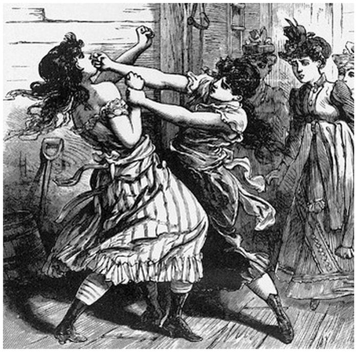 Элизабет Уилкинсон - первая женщина-боксёр.