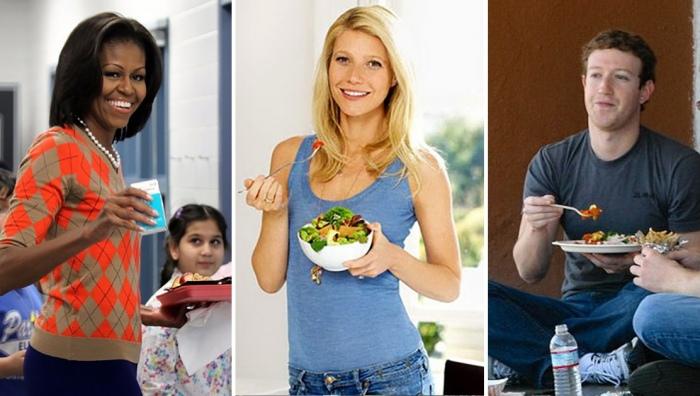 Что едят на обед успешные и знаменитые?
