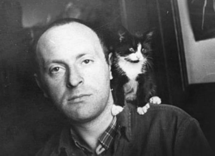 Бродский и кот.