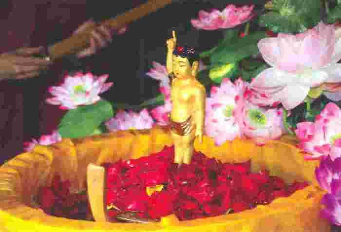 Рождение Будды.