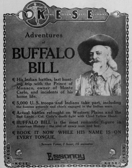 Приключения Буффало Билла, 1914 год.