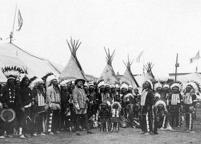 «Дикий Запад» Буффало Билла, 1890 год.