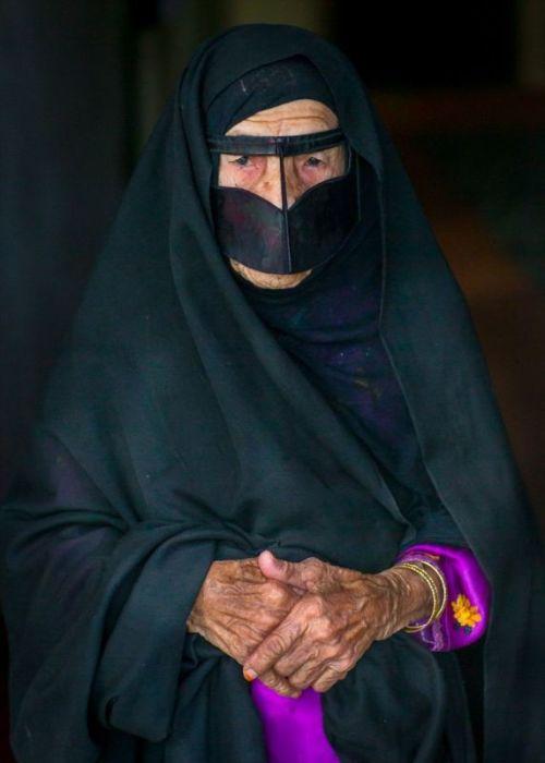 Очарование иранской бурки.