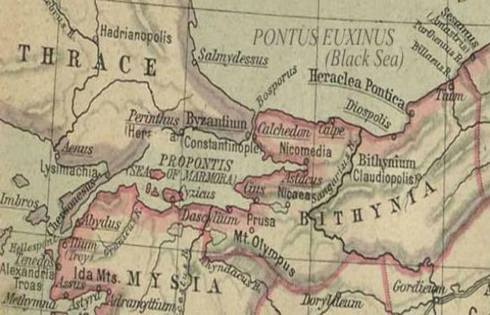 Византия основана греческими колонистами из Мегары.