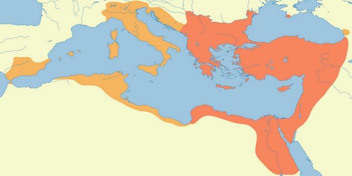 Византия - Восточная империя.
