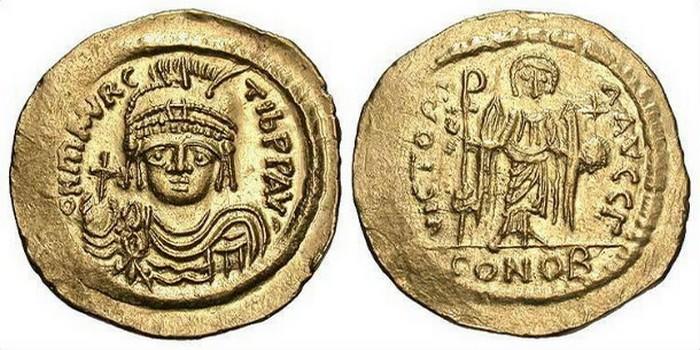 Византия при императоре Маврикии Тиберии.